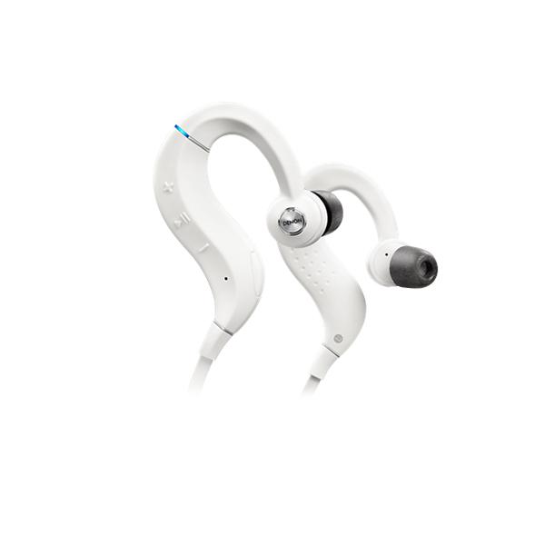 DENON デノン AH-C160WWTEM ホワイト Bluetooth ブルートゥース ワイヤレス イヤホン イヤフォン【スポーツ・ランニングに最適!】 【1年保証】 【送料無料】