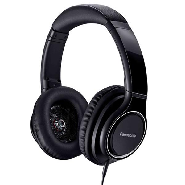 【お取り寄せ】Panasonic パナソニック RP-HD5-K ブラック ハイレゾ対応密閉ヘッドホン ヘッドフォン 【1年保証】 【送料無料】