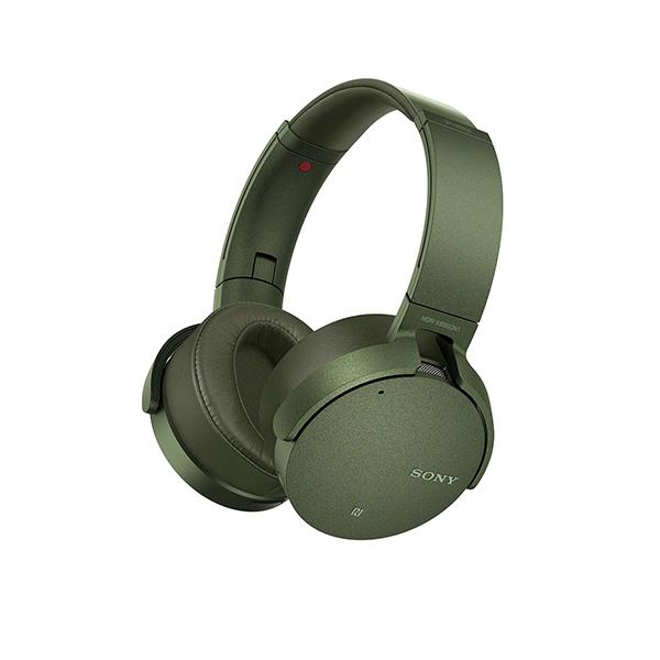 【動画あり★】 ワイヤレス ヘッドホン SONY ソニー MDR-XB950N1 G グリーン Bluetooth ブルートゥース 重低音 ノイズキャンセリング 密閉型 ヘッドフォン 【送料無料】