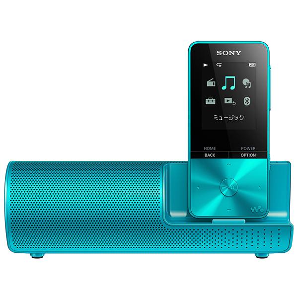 SONY ソニー NW-S313K LC ブルー ウォークマン Sシリーズ 4GB 本体 スピーカー付き 【送料無料】 【1年保証】