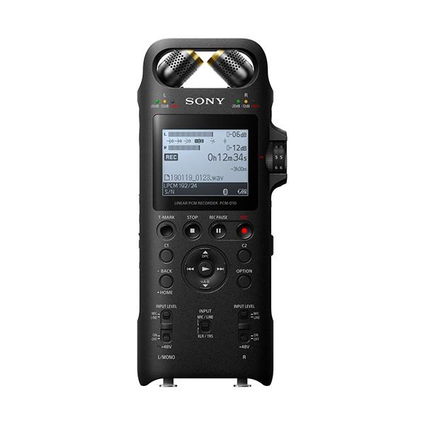 【ご予約受付中】【お取り寄せ】ICレコーダー SONY ソニー PCM-D10【送料無料】 小型 高音質 高性能マイク 録音 【1年保証】【1月26日発売予定】