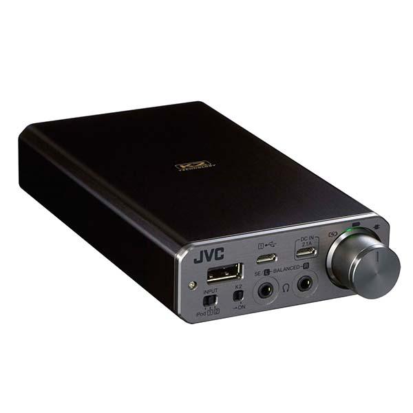 JVC ビクター SU-AX01 USB-DAC搭載ポータブルヘッドホンアンプ【送料無料(代引き不可)】 【1年保証】