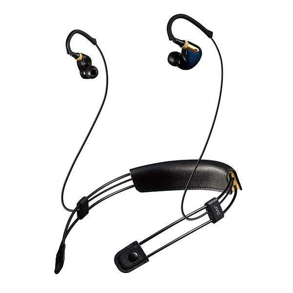 Bluetooth ブルートゥース ワイヤレス イヤホン JVC XE-M10BT-A ブルー【送料無料】 【1年保証】