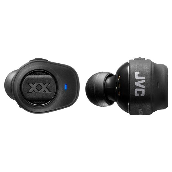 完全ワイヤレスイヤホン JVC ビクター HA-XC70BT ブラック 【送料無料】 左右分離型 両耳 重低音 Bluetooth ワイヤレス イヤフォン 【1年保証】