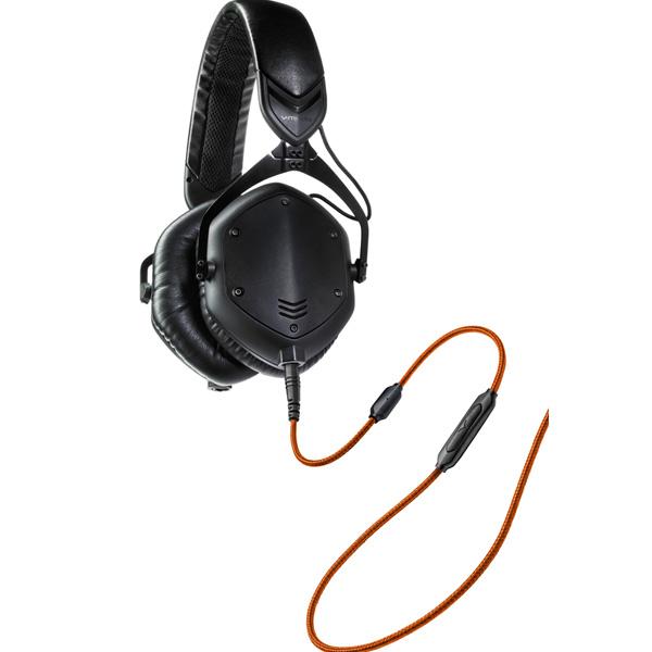 v-moda ブイモーダ Crossfade M-100 Matte Black(M100-MatteBlk)【送料無料】おしゃれなヘッドホン ヘッドフォン 【1年保証】