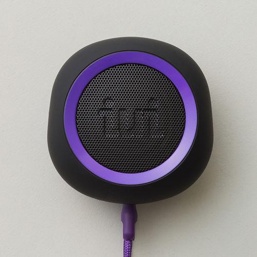 BeYo(ビーヨ) Purple パープル ウーファー搭載 Bluetooth ポータブル スピーカー 【送料無料】 ワイヤレススピーカー 【1年保証】