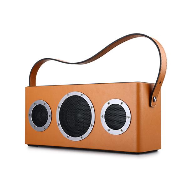 【お取り寄せ】 GGMM M4 Bluetooth & Wi-Fiスピーカー オレンジ【WS-401-11】【送料無料】