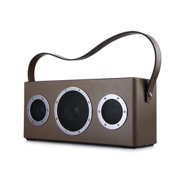 【お取り寄せ】 GGMM M4 Bluetooth & Wi-Fiスピーカー ブラウン【WS-401-12】【送料無料】 【1年保証】