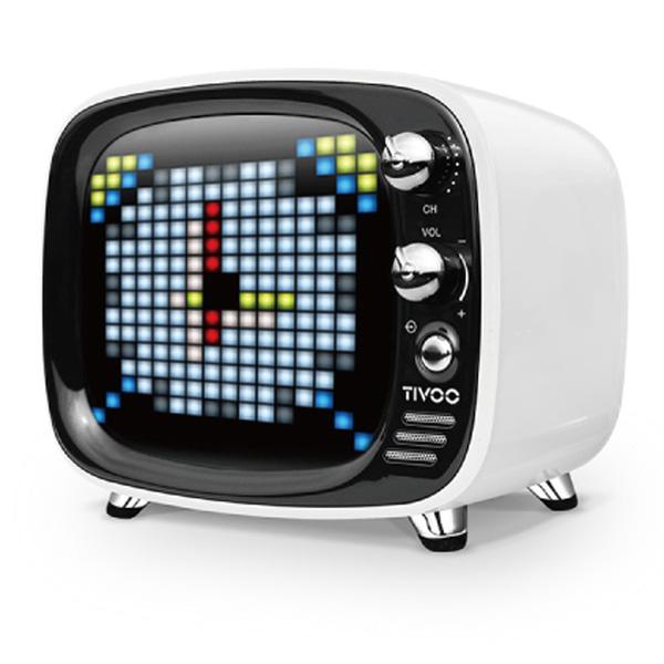 ワイヤレス スピーカー Bluetooth スピーカー DIVOOM Tivoo WHITE 【DIV-TIVOO-WH】【送料無料】 かわいい ギフト 【6ヶ月保証】