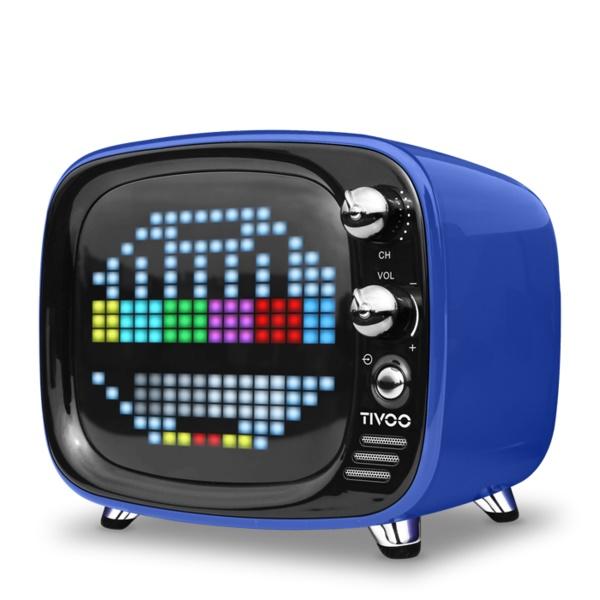 ワイヤレス スピーカー Bluetooth スピーカー DIVOOM Tivoo BLUE 【DIV-TIVOO-BL】【送料無料】 かわいい ギフト 【6ヶ月保証】