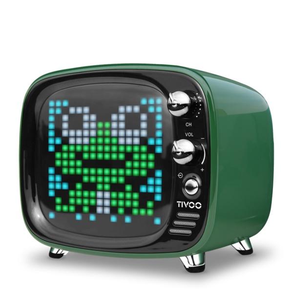 ワイヤレス スピーカー Bluetooth スピーカー DIVOOM Tivoo GREEN 【DIV-TIVOO-GR】【送料無料】 かわいい ギフト 【6ヶ月保証】