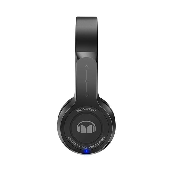MONSTER CABLE(モンスターケーブル) CLARITY HD ワイヤレスオンイヤーヘッドホン ブラック 【MH CLY ON BK BT】【送料無料】Bluetooth ブルートゥースワイヤレスヘッドホン ヘッドフォン 【1年保証】
