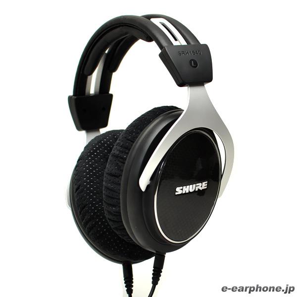 【送料無料】 SHURE シュア SRH1540 高音質ヘッドホン モニターヘッドホン ヘッドフォン 【2年保証】