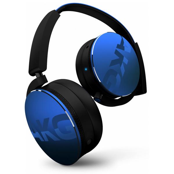 Bluetooth ワイヤレス ヘッドホン AKG アーカーゲー Y50BT ブルー 【AKGのおしゃれなヘッドホン】 【送料無料】