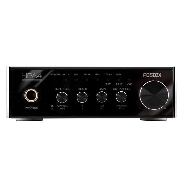FOSTEX フォステクス HP-A4 ハイレゾ対応高音質DAC+ヘッドホンアンプ【送料無料】 【1年保証】