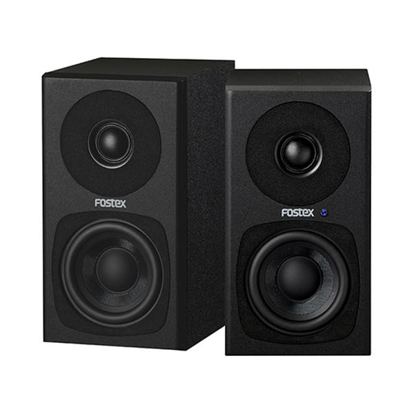 【お取り寄せ】 FOSTEX フォステクス PM0.3H ブラック 【送料無料】デスクトップ向け高音質スピーカー 【1年保証】