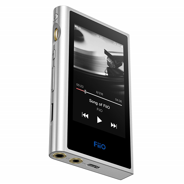 Android OS搭載。2.5mmバランス出力端子搭載。高速動作と低消費電力を両立させた高音質ハイレゾ対応ミュージックプレイヤー 【SDカードプレゼント中!】 FiiO フィーオ M9 Silver 【FIO-M9-S】 ポータブル ハイレゾプレイヤー【送料無料】 【1年保証】