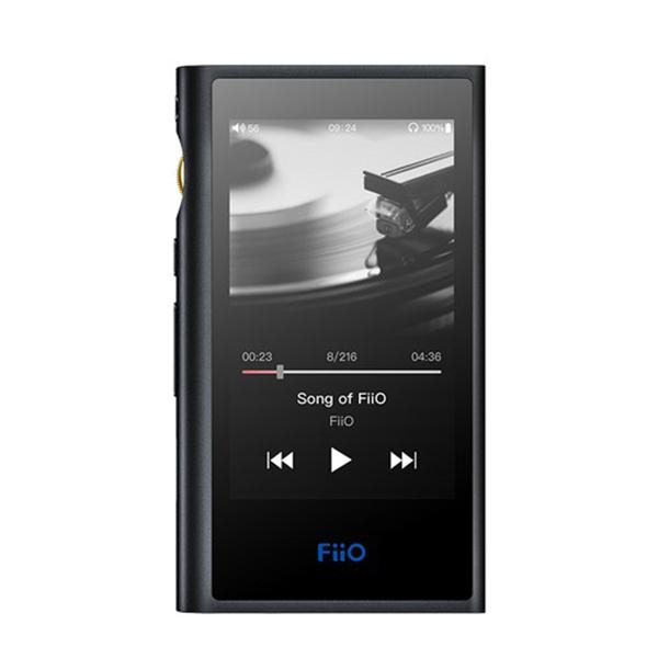FiiO フィーオ M9 【FIO-M9-B 】 ポータブル ハイレゾプレイヤー【送料無料】 【1年保証】