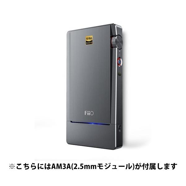 FiiO フィーオ Q5 with AM3A (2.5mmバランス出力対応) 【FIO-Q5-AM3A】 【送料無料】ポータブルヘッドホンアンプ 【1年保証】