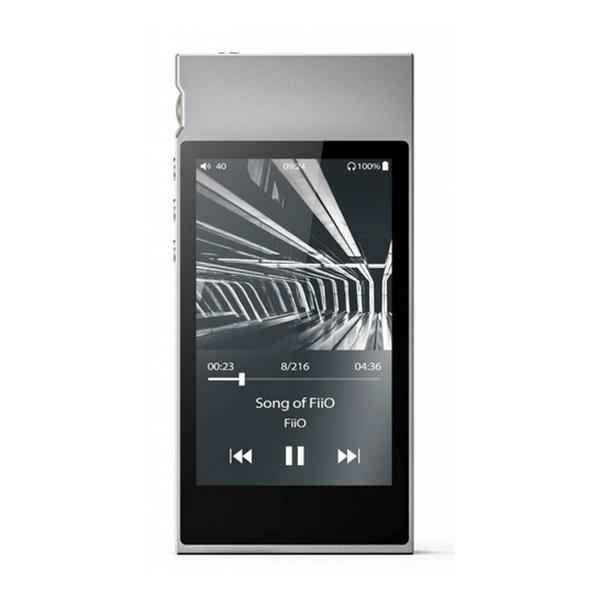 FiiO フィーオ M7 Silver 【FIO-M7-S】 ポータブル ハイレゾプレイヤー【送料無料】 【1年保証】
