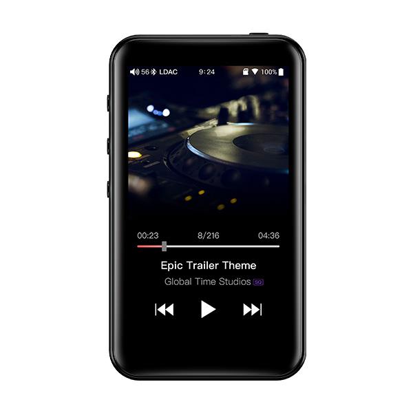 ES9018Q2C搭載高音質ポータブルオーディオプレイヤー Spotify対応 Android OS搭載 mp3プレーヤー FiiO フィーオ M6 【FIO-M6-B】 ポータブル ハイレゾプレイヤー 【送料無料】【1年保証】