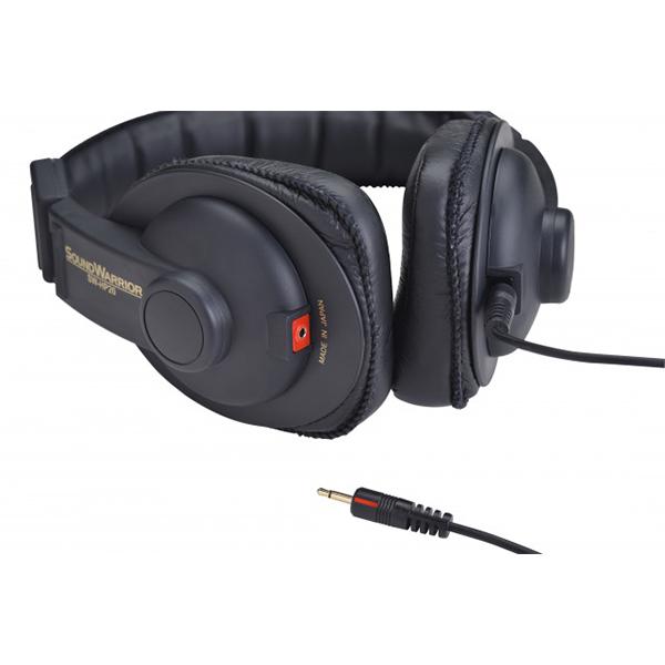 SOUND WARRIOR サウンドウォーリア SW-HP20-B リスニングユース・ハイレゾ対応ヘッドホン ヘッドフォン【送料無料】