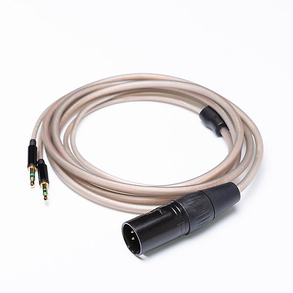 【お取り寄せ】 HIFIMAN ハイファイマン Crystalline Copper-Silver XLR 4 Pin Balanced Cable 【送料無料】 ヘッドホンケーブル