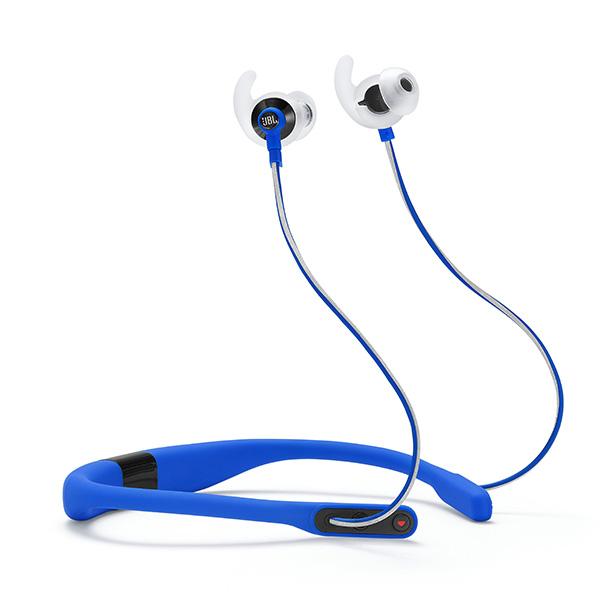 【送料無料】 スポーツ向け ブルートゥース Bluetooth JBL FIT ワイヤレス イヤフォン REFLECT 【1年保証】 イヤホン 【JBLREFFITBLU】 ブルー