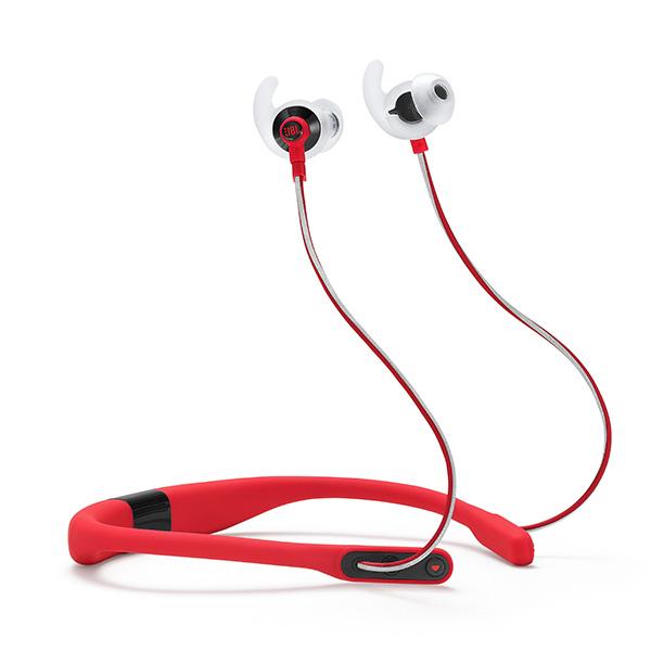 Bluetooth ブルートゥース イヤホン JBL REFLECT FIT レッド 【JBLREFFITRED】 【送料無料】 ワイヤレス スポーツ向け イヤフォン 【1年保証】