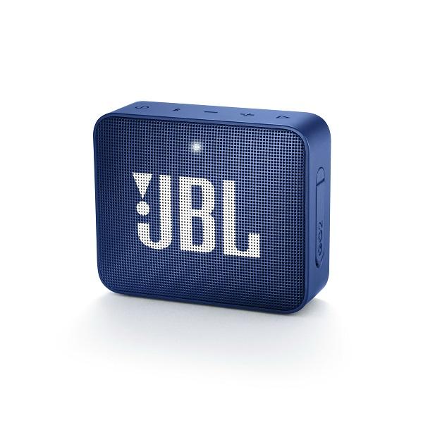 防水 ワイヤレス スピーカー Bluetooth JBL GO2 ブルー 【JBLGO2BLU】 ギフト プレゼント アウトドア キャンプ 【1年保証】【送料無料】