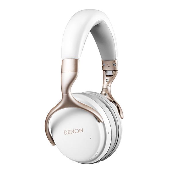 【ご予約受付中】 ワイヤレスヘッドホン DENON デノン AH-GC25W WT Bluetooth ブルートゥース ヘッドホン ヘッドフォン【送料無料】 【1年保証】【5月下旬発売予定】