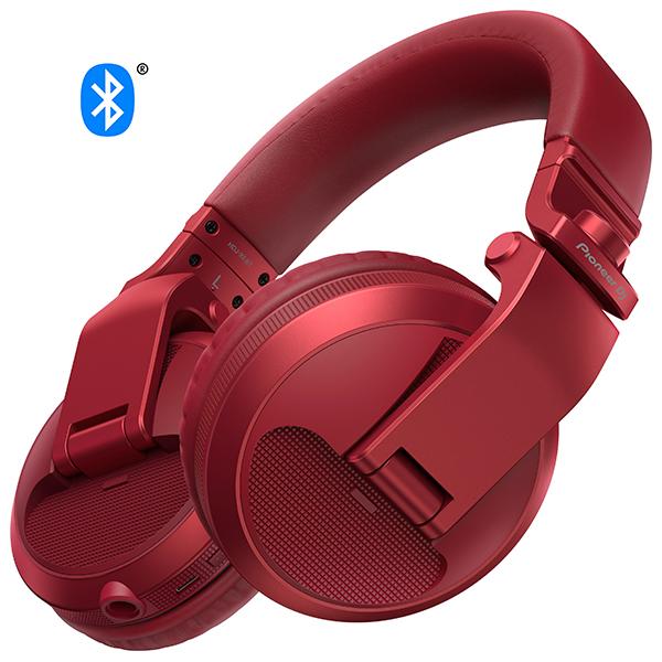 【新製品】 Pioneer パイオニア HDJ-X5BT-R【送料無料】DJヘッドホン ヘッドフォン 【1年保証】