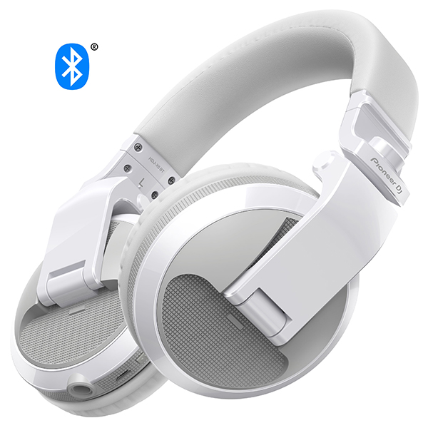 【新製品】 Pioneer パイオニア HDJ-X5BT-W【送料無料】DJヘッドホン ヘッドフォン 【1年保証】