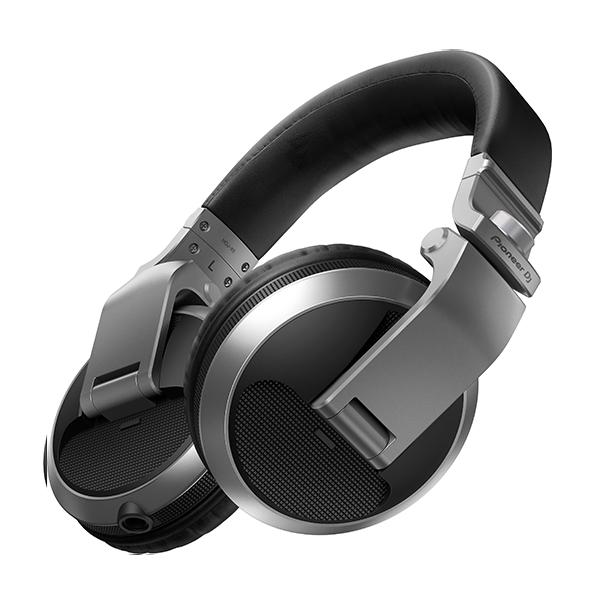 Pioneer パイオニア HDJ-X5-S(シルバー)【送料無料】DJヘッドホン ヘッドフォン