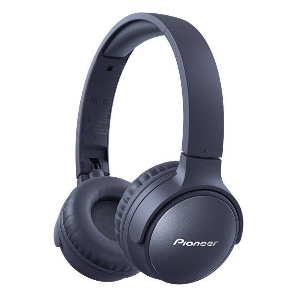 Pioneer パイオニア SE-S6BN(L) ブルー ノイズキャンセリング Bluetooth ワイヤレス ヘッドホン【送料無料】