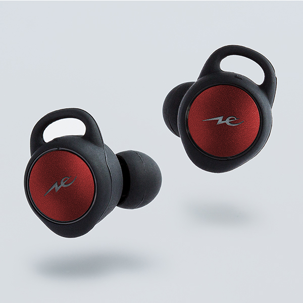 【新製品】Bluetooth イヤホン 完全ワイヤレス イヤホン radius HP-T100BT レッド 【HP-T100BTR】 【送料無料】【1年保証】
