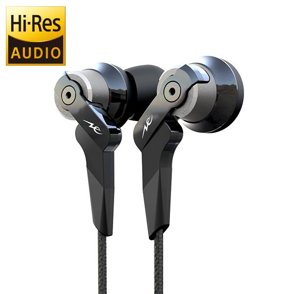 radius ラディウス High-MFD System HP-NHR21K ブラック ハイレゾ対応 カナル型 高音質 イヤホン 上位モデル 【送料無料】【1年保証】