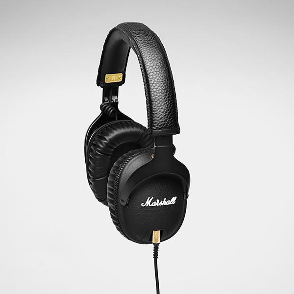 Marshall マーシャル Monitor Black スタジオ用ヘッドホン DTMヘッドホン モニターヘッドホン ヘッドフォン【送料無料】 【1年保証】