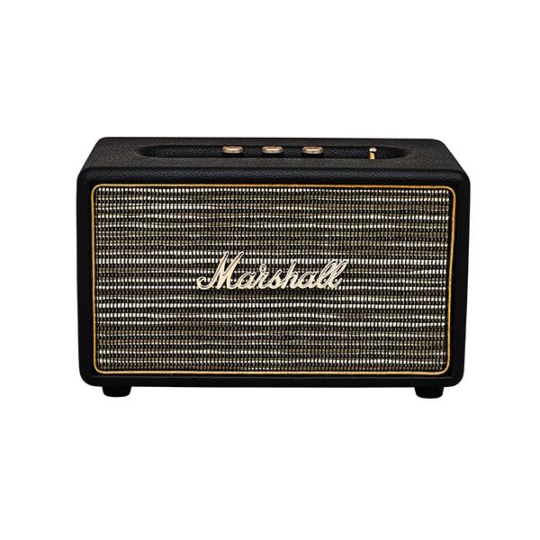 Bluetooth ワイヤレス スピーカー Marshall マーシャル ACTON Bluetooth Black ブラック 【送料無料】 【1年保証】