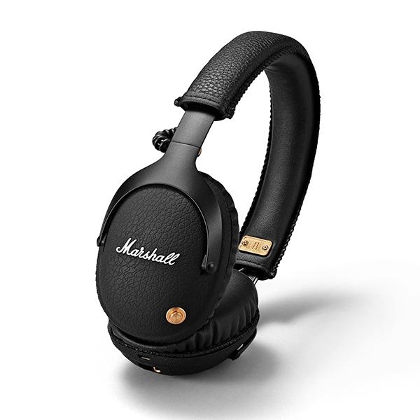 ワイヤレスヘッドホン Marshall マーシャル Monitor Bluetooth ブルートゥース Black スタジオ用 ヘッドホン DTM ヘッドホン モニター ヘッドホン ヘッドフォン【送料無料】 【1年保証】