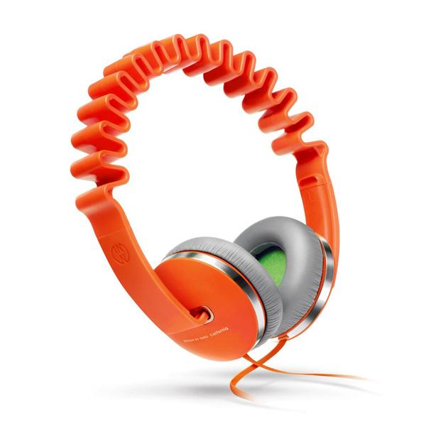 INNODESIGN(イノデザイン) INNOWAVE オレンジ【送料無料】おしゃれなデザインヘッドホン ヘッドフォン 【1年保証】