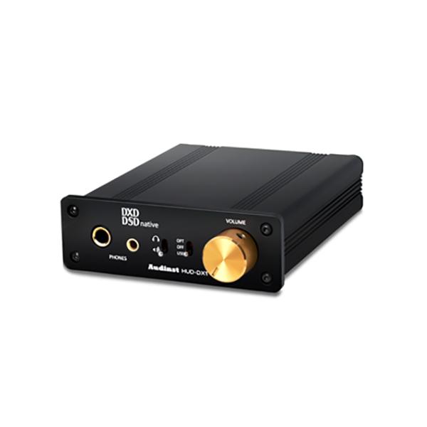 【送料無料】 Audinst オーディンスト HUD-DX1 BLACK DSD/DXD対応ヘッドホンアンプ【PCアンプ】 【1年保証】