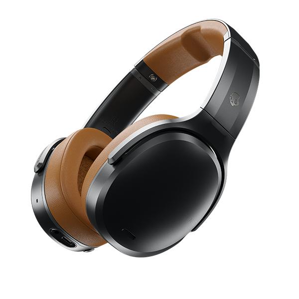 【新製品】 Bluetooth ブルートゥース ワイヤレス ヘッドホン Skullcandy スカルキャンディー CRUSHER ANC BLACK/TAN/BLACK 【S6CPW-M373】 【送料無料】 スカルキャンディー ヘッドホン ギフト プレゼント 【2年保証】