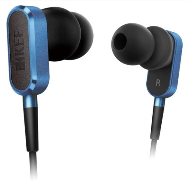 【お取り寄せ】 KEF ケフ M100 レーシングブルー【M100RB】 iPhone対応 高音質 カナル型 イヤホン 【送料無料】【1年保証】