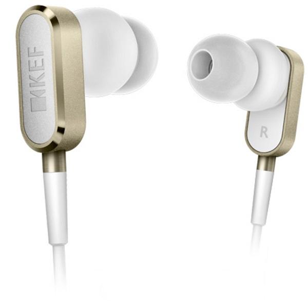 KEF ケフ M100 シャンパンゴールド【M100CG】 iPhone対応 高音質 カナル型 イヤホン 【送料無料】【1年保証】