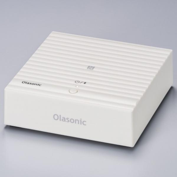 【お取り寄せ】 OLASONIC オラソニック NA-BTR1 W (ホワイト) Bluetooth対応 LDAC aptX HD対応 ワイヤレスレシーバー 【送料無料】 【1年保証】