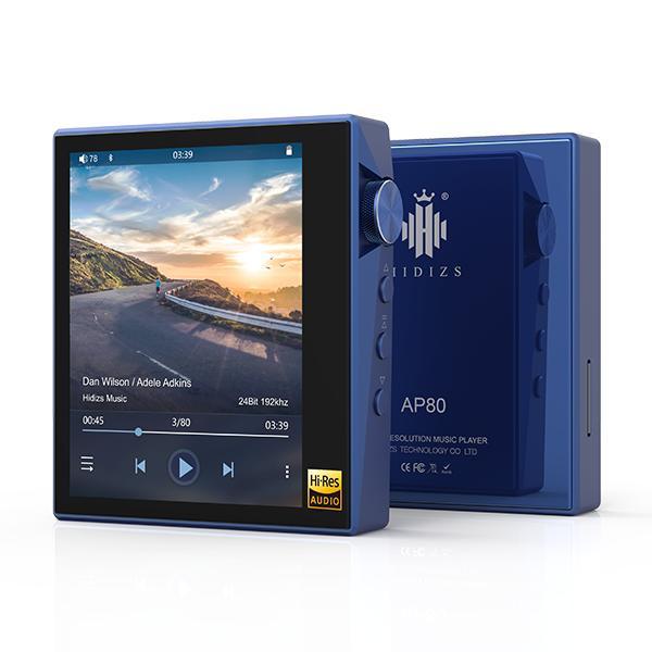 Hidizs ヒディス AP80 Blue ハイレゾ対応デジタルオーディオプレイヤー【送料無料】 【1年保証】