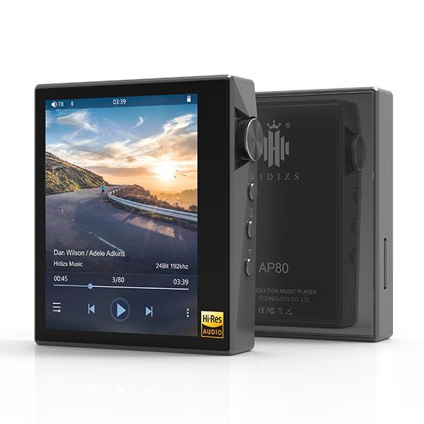 Hidizs ヒディス AP80 Gray ハイレゾ対応デジタルオーディオプレイヤー【送料無料】 【1年保証】