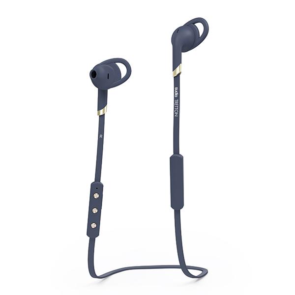 SUDIO スーディオ TRETTON ネイビー【SD-0063】 Bluetooth ワイヤレス イヤホン 高音質 ブルートゥース イヤフォン 【1年保証】【送料無料】