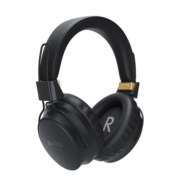 SUDIO スーディオ KLAR ANCワイヤレスヘッドホン ブラック【SD-0036】 【送料無料】 おしゃれ Bluetooth ブルートゥース ワイヤレスヘッドホン 【1年保証】